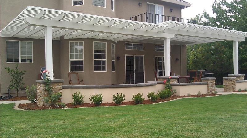 Patio cover, Pergola, Lattice cover, aluminum, patio cover contractor